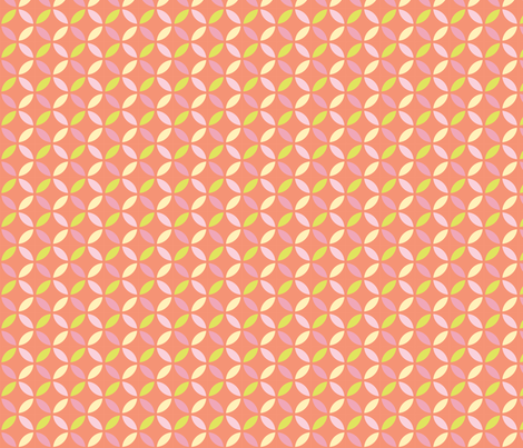 Circles fabric by witee on Spoonflower - custom fabric