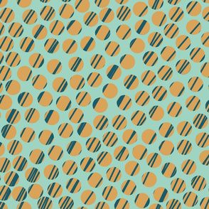 Huge_Dots_with_aqua, gold and_Blue