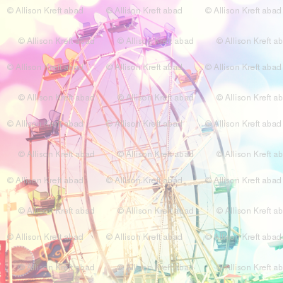 Dreamy Ferris wheel