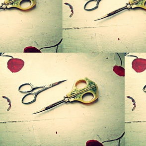 Antique Scissors