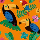 Hawaiian Print - Tucans