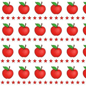 Red Apples and Stars