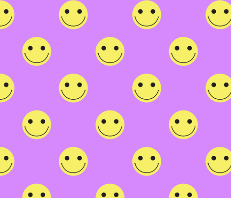 happy fabric by castl3t0n on Spoonflower - custom fabric
