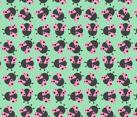Pink Lady fabric by may_leong on Spoonflower - custom fabric