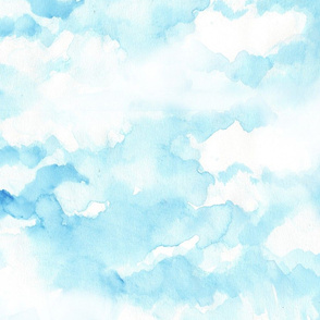 sky in watercolor