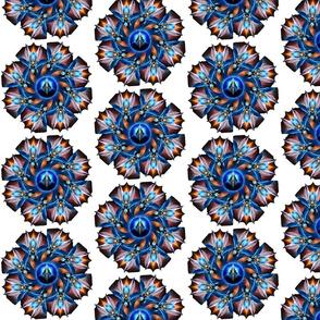 The Majesty Of Arsencia Kaleidoscope Twirl Fan