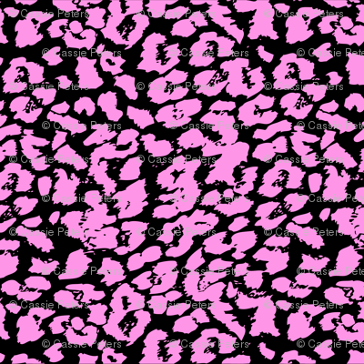 Pink Animal Spots