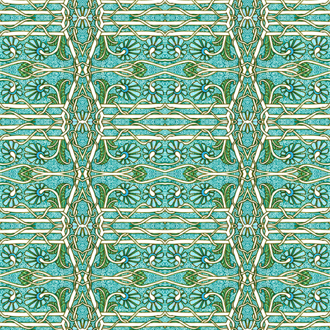 On the Fence fabric by edsel2084 on Spoonflower - custom fabric