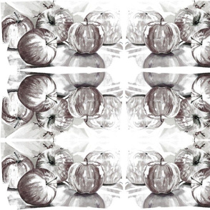 Apple Kaleidoscope B x W