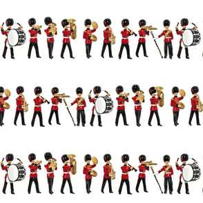 BRITISH MARCHING BAND