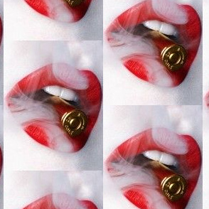 LIPS WITH A BULLET