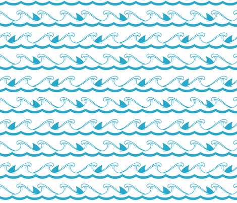Surfer Dude fabric by fancifuldoodles on Spoonflower - custom fabric