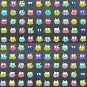 Hootin Owls - mini