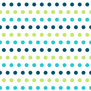 Linear Ocean Dots - Large