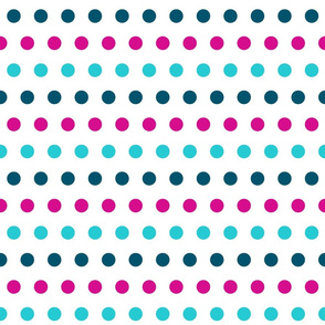 Pink & Blue dots - Large