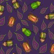 Rfinal__beetle_scribble-leaves_goldy_greens_purple_pattern_shop_thumb