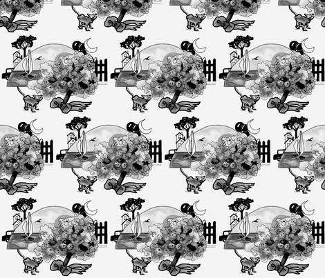 Lake Erie Ohio fabric by melanie_herbruck on Spoonflower - custom fabric