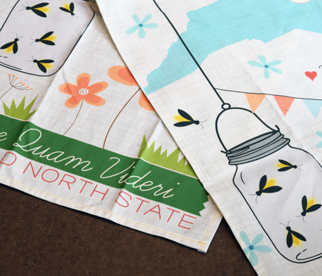 North Carolina Tea Towel