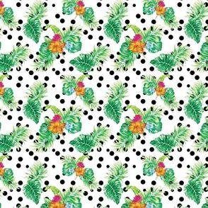 Tropical_flowers-polka_dot