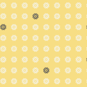 gray_yellow_flower_polka_dots