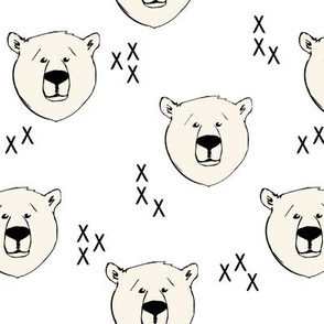 Polar Bear // white