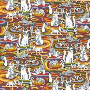 Carpet Cats Color