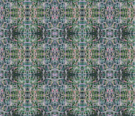 Forest Green Spark fabric by rhine on Spoonflower - custom fabric