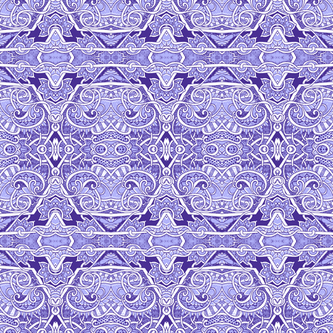 Twisting in a Paisley Land fabric by edsel2084 on Spoonflower - custom fabric