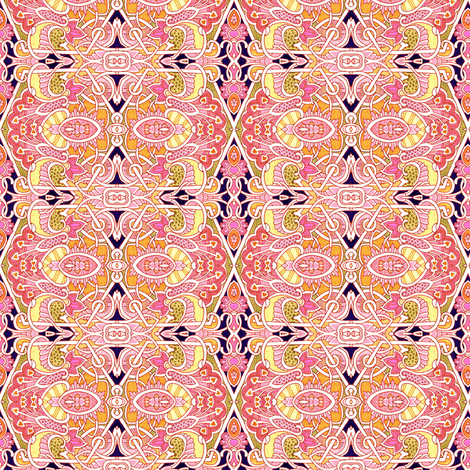 All Lined Up fabric by edsel2084 on Spoonflower - custom fabric