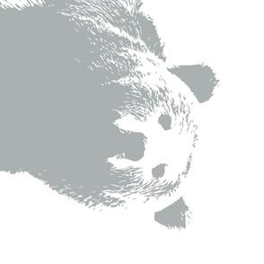 """Grey Bear // 1 yard cut (42"""" width)"""