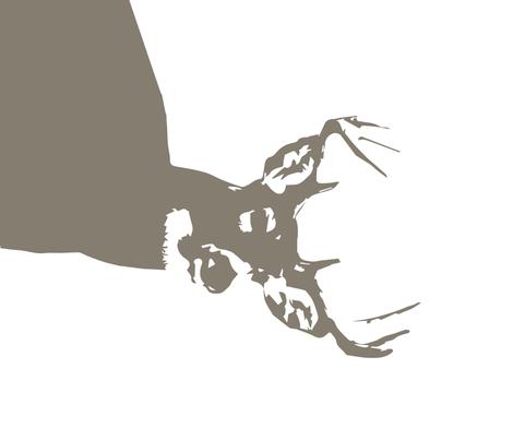 "Brown Buck // 1 yard cut (42"" width) fabric by littlearrowdesign on Spoonflower - custom fabric"