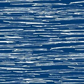 sketchy stripe navy