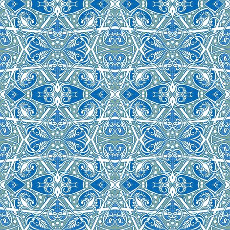 Winter Love fabric by edsel2084 on Spoonflower - custom fabric