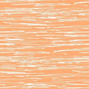 sketchy stripe orange