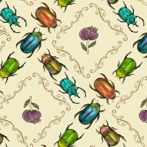 Floral Beetle Swirl