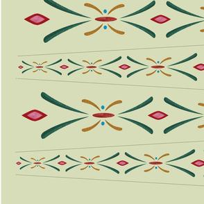 Anna green coronation pleat
