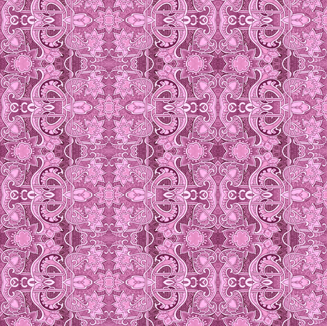 The Lacy Pink Slink fabric by edsel2084 on Spoonflower - custom fabric