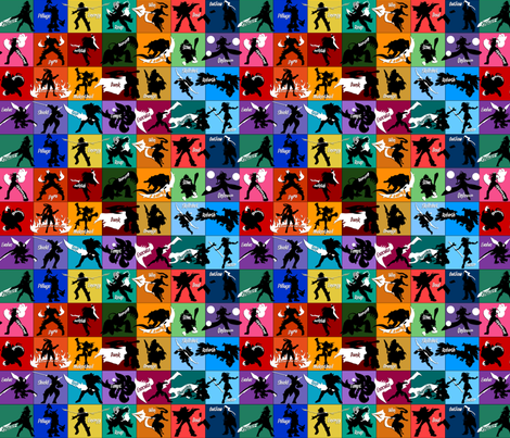 League of Legends fabric by titan_design_&_technology on Spoonflower - custom fabric