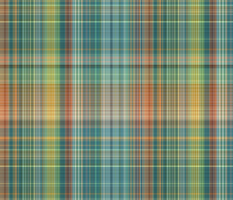 plaid 15 fabric by kociara on Spoonflower - custom fabric