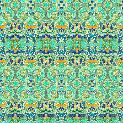 Let Us Lattice This Lettuce fabric by edsel2084 on Spoonflower - custom fabric