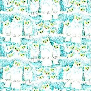 Felt Tip Owls
