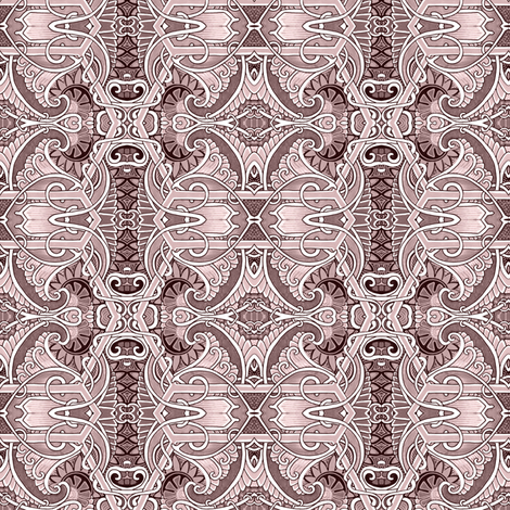 Echoes From an 1890's Girl fabric by edsel2084 on Spoonflower - custom fabric