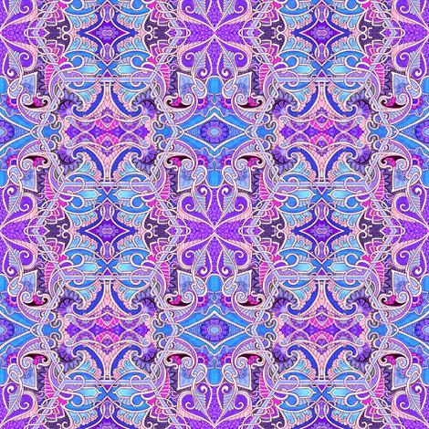 Paisley Pinwheel Polka fabric by edsel2084 on Spoonflower - custom fabric