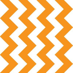 Orange Chevron - Medium