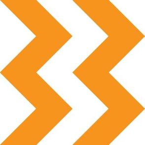 Orange Chevron - Large