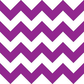 Purple Chevron - Medium