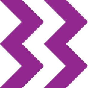Purple Chevron - Large
