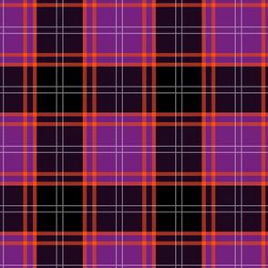 Custom Tartan ~ MacHalloween