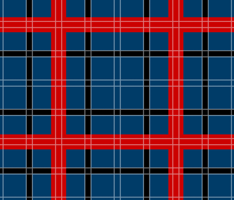 Custom Tartan ~ MacSwede  fabric by peacoquettedesigns on Spoonflower - custom fabric