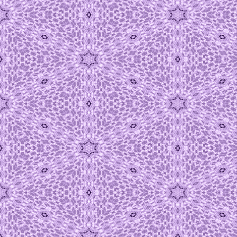 Patchwork in Purple: Delicacy fabric by tallulahdahling on Spoonflower - custom fabric